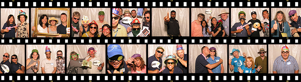 photos of IT staff at the One IT picnic 2015