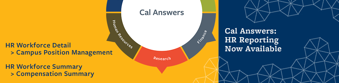Cal Answers HR Dashboard promo