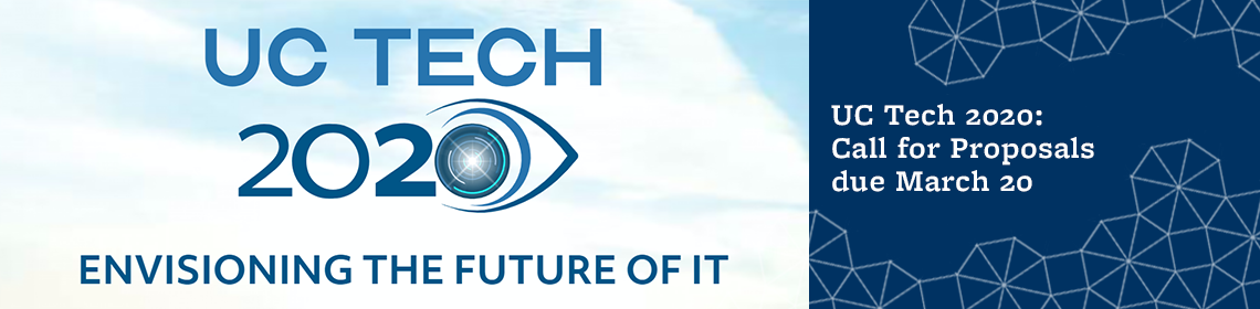 UC Tech 2020: Call for Proposals due March 20