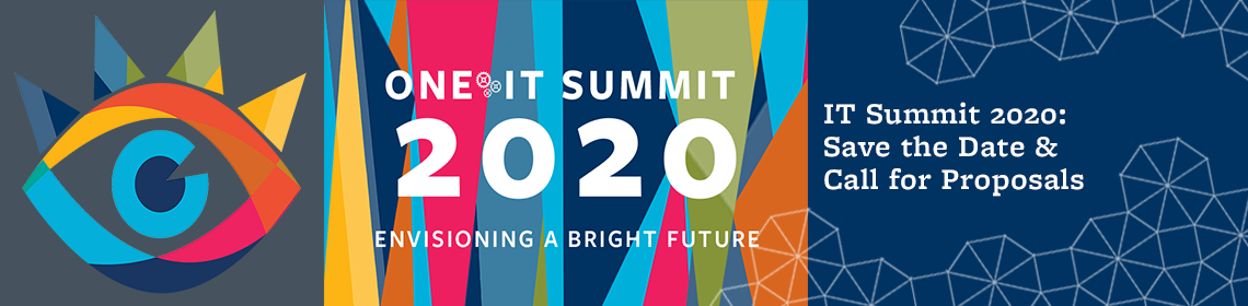 IT Summit 2020: Save the Date & Call for Proposals