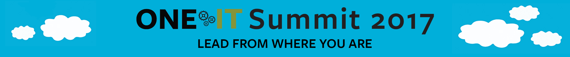 One IT Summit header