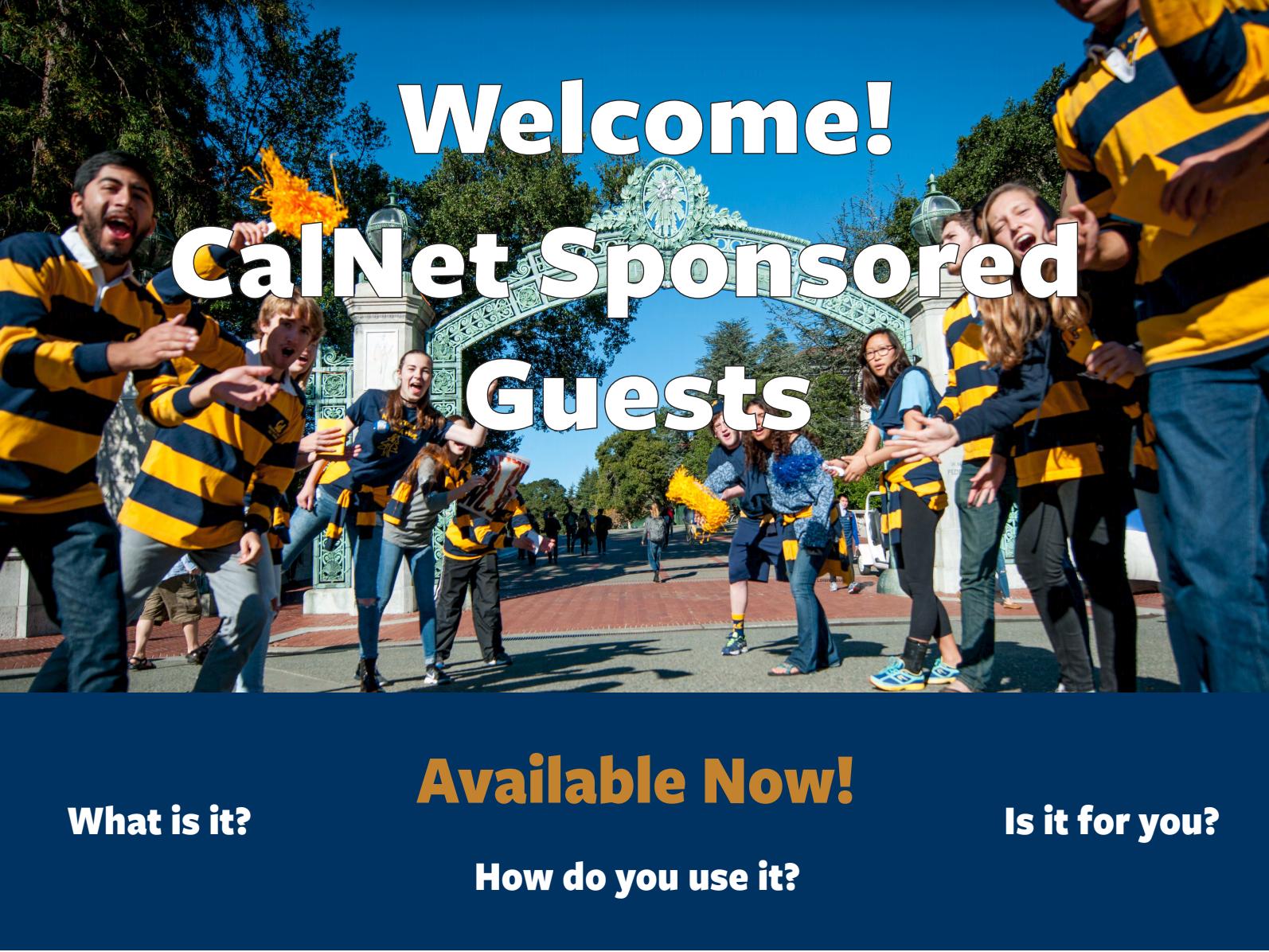 image for CalNet poster