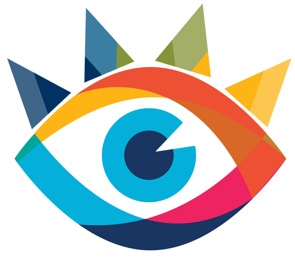 IT Summit 2020 logo (a colorful eye)