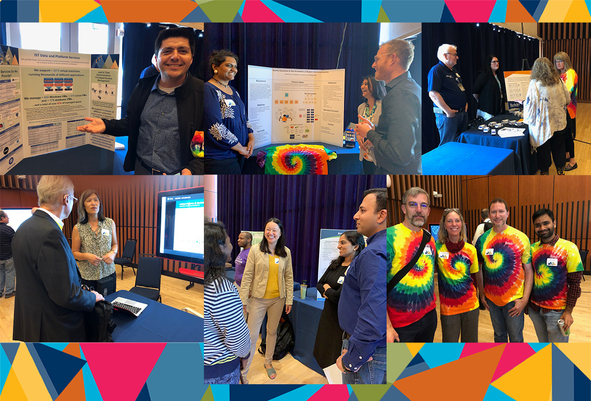 collage of photos from IT Summit 2019 Exhibit Hall