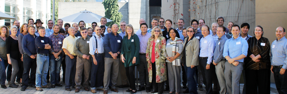 group photo from Reimagining IT kickoff retreat on Oct. 4-5