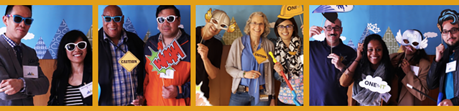 header image includes photos of IT staff at IT Summit 2016