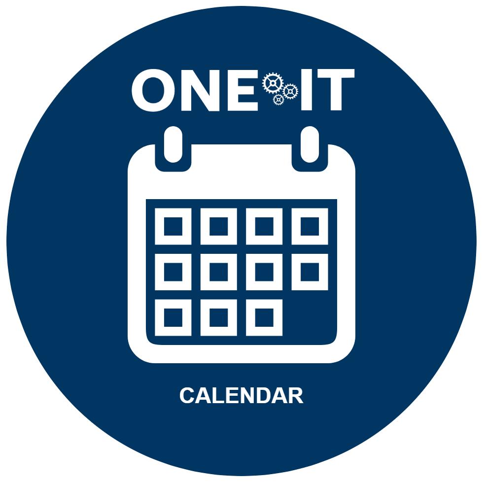 One IT calendar icon