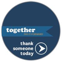 thank someone today button