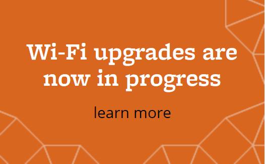 wi-fi upgrades in progress