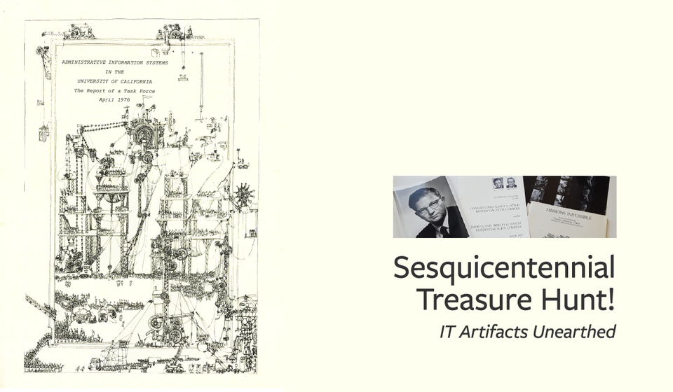 Sesquicentennial Treasure Hunt! – IT Artifacts Unearthed