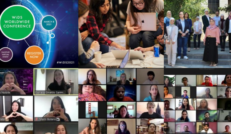 Join us for WiDS March 8-11: Women in Data Science at UC Berkeley