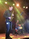 Brian Wood on sax