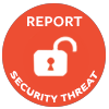 report a security threat button