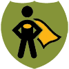 super hero icon for revenue generation group
