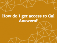Cal Answers