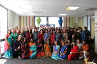 Diwali celebration group photo