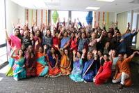 Diwali celebration group photo