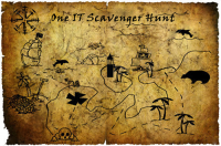 One IT Scavenger Hunt graphic