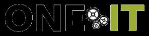 One IT logo designed by Rita Rosenthal