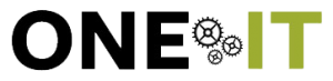 One IT logo designed by Rita Rosenthal